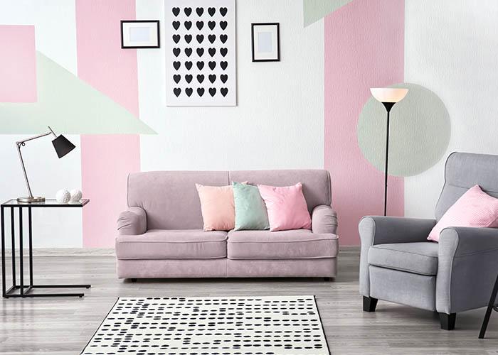 Tapizar el sofá para aprovechar la luz natural